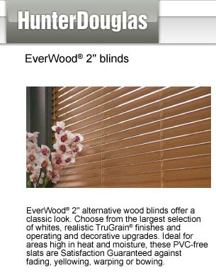 "Everwood 2"" Blinds"